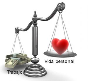 vida personal vs trabajo